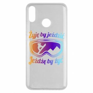 Huawei Y9 2019 Case I live to ride