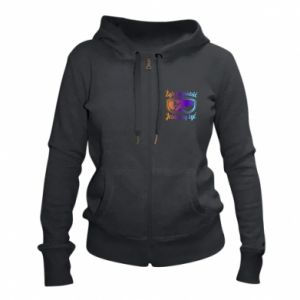 Women's zip up hoodies I live to ride