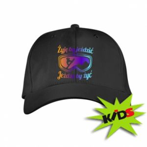 Kids' cap I live to ride
