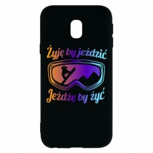 Phone case for Samsung J3 2017 I live to ride