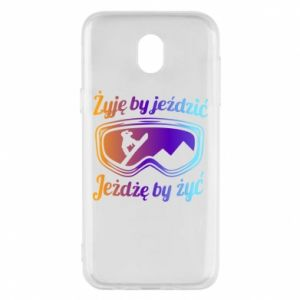 Phone case for Samsung J5 2017 I live to ride