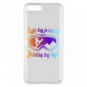Phone case for Xiaomi Mi6 I live to ride