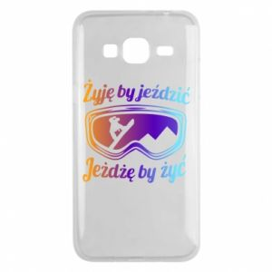 Phone case for Samsung J3 2016 I live to ride