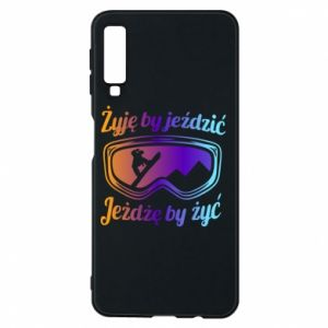 Phone case for Samsung A7 2018 I live to ride